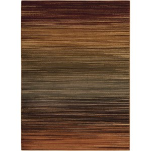 "7'10"" x 10'6"" Multicolor Rectangle Rug"