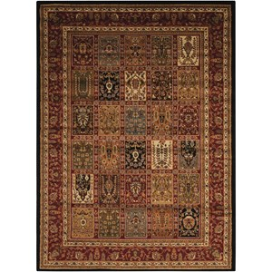 "3'11"" x 5'10"" Multicolor Rectangle Rug"