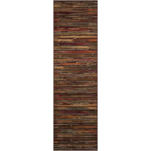 "Nourison Paramount 2'2"" x 7'3"" Multicolor Runner Rug"