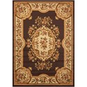 "Nourison Paramount 7'10"" x 10'6"" Chocolate Rectangle Rug - Item Number: PAR37 CHO 710X106"