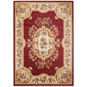 "Nourison Paramount 3'11"" x 5'10"" Red Rectangle Rug - Item Number: PAR37 RED 311X510"