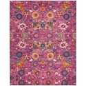 Nourison Passion 8'X 10'  Rug - Item Number: PSN01 FUCHS 8X 10