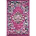 "Nourison Passion 22""X34""  Rug - Item Number: PSN03 FUCHS 22X34"