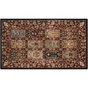 "Nourison PERSIAN ARTS 2' X 3'6"" Multicolor Rug - Item Number: BD01 MTC 2X36"