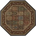 "Nourison PERSIAN ARTS 7'9"" X 7'9"" Multicolor Rug - Item Number: BD01 MTC 79X79"
