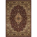 "Nourison PERSIAN ARTS 2' X 3'6"" Brick Rug - Item Number: BD02 BRK 2X36"