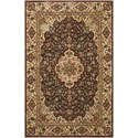 "Nourison PERSIAN ARTS 2' X 3'6"" Chocolate Rug - Item Number: BD02 CHO 2X36"