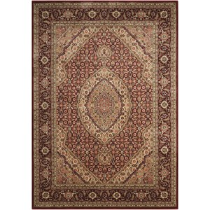 "Nourison PERSIAN ARTS 3'6"" X 5'6"" Brick Rug"