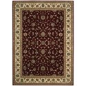 "Nourison PERSIAN ARTS 9'6"" X 13' Brick Rug - Item Number: BD04 BRK 96X13"