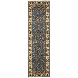 "Nourison PERSIAN ARTS 2'3"" X 8' Light Blue Rug"