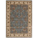 "Nourison PERSIAN ARTS 5'3"" X 7'5"" Light Blue Rug - Item Number: BD05 LTB 53X75"