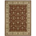 "Nourison Persian Crown Area Rug 5'3"" X 7'4"" - Item Number: 17820"