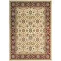 "Nourison Persian Crown 1'11"" x 2'11"" Cream Rectangle Rug - Item Number: PC001 CREAM 111X211"