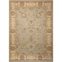 "Nourison Persian Empire 2' x 2'9"" Aqua Rectangle Rug - Item Number: PE22 AQU 2X29"