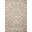 "Nourison Persian Empire 7'9"" x 10'10"" Flint Rectangle Rug - Item Number: PE22 FLINT 79X1010"
