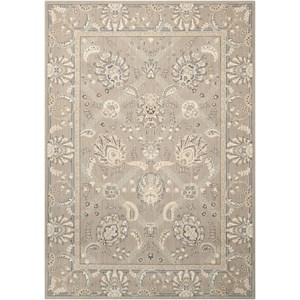 "Nourison Persian Empire 9'6"" x 13' Flint Rectangle Rug"