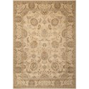 "Nourison Persian Empire 5'3"" x 7'5"" Ivory Rectangle Rug - Item Number: PE22 IV 53X75"