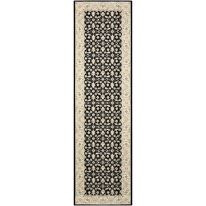 "Nourison Persian Empire 7'9"" x 10'10"" Black Rectangle Rug"