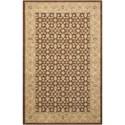 "Nourison Persian Empire 2' x 2'9"" Chocolate Rectangle Rug - Item Number: PE26 CHO 2X29"