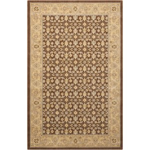 "Nourison Persian Empire 7'9"" x 10'10"" Chocolate Rectangle Rug"