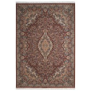 "Nourison Persian Palace 3'11"" X 5'11"" Terracotta Rug"