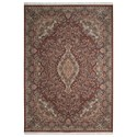 "Nourison Persian Palace 9'9"" X 13'9"" Terracotta Rug - Item Number: PPL02 TERA 99X139"