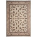 "Nourison Persian Palace 3'11"" X 5'11"" Cream Rug - Item Number: PPL03 CRM 311X511"