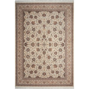 "Nourison Persian Palace 7'10"" X 10'10"" Cream Rug"