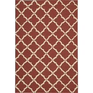 """Nourison Portico 8' x 10'6"""" Red Area Rug"""