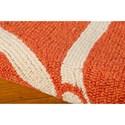Nourison Portico 10' x 13' Orange Area Rug