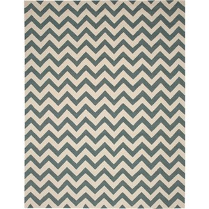 "Nourison Portico 8' x 10'6"" Light Green Area Rug"