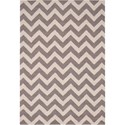 "Nourison Portico 5' x 7'6"" Flame Stitch Area Rug - Item Number: 27747"
