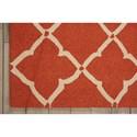 Nourison Portico 2' x 3' Orange Rectangle Rug