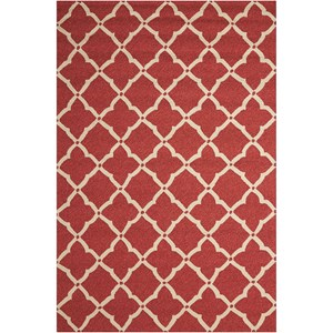 Nourison Portico 2' x 3' Red Rectangle Rug