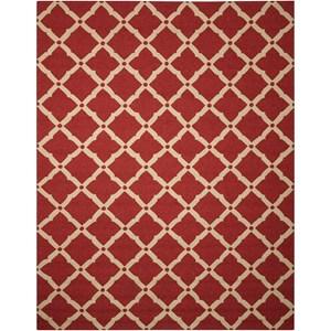 "Nourison Portico 8' x 10'6"" Red Rectangle Rug"
