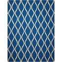 "Nourison Portico 2'3"" x 3'9"" Navy Rectangle Rug - Item Number: POR02 NAV 23X39"