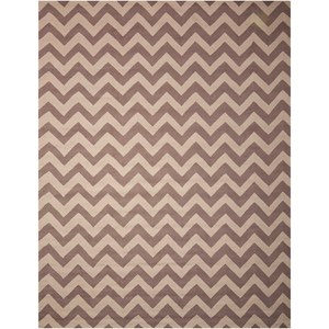 "Nourison Portico 8' x 10'6"" Flame Stitch Rectangle Rug"