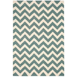 "Nourison Portico 5' x 7'6"" Light Green Rectangle Rug"