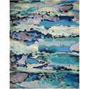 "Nourison Prismatic 8'6"" X 11'6"" Seaglass Rug - Item Number: PRS04 SEAGL 86X116"