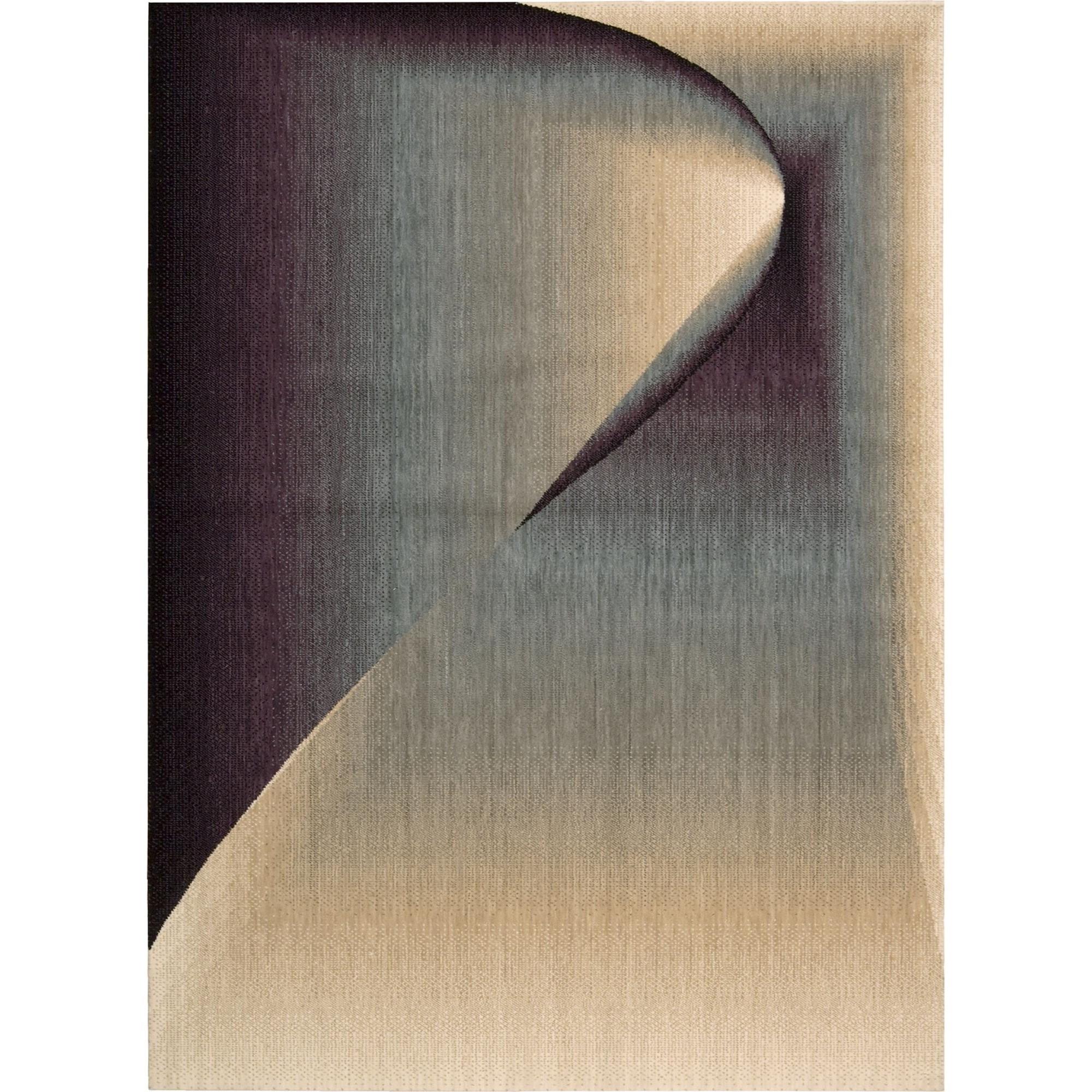 """Nourison Radiant Arts 7'9"""" x 10'10"""" Opal Area Rug - Item Number: 39738"""