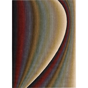 "Nourison Radiant Arts 9'6"" x 13'6"" Rainbow Area Rug"
