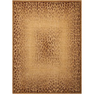 "Nourison Radiant Impression 7'9"" x 10'10"" Beige Rectangle Rug"
