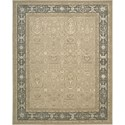 "Nourison Regal 9'9"" x 13'9"" Sand Area Rug - Item Number: 05240"