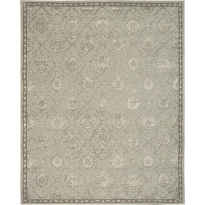 "Nourison Regal 9'9"" x 13'9"" Blue Cloud Area Rug"