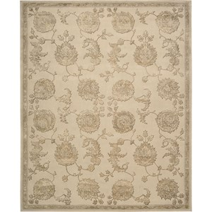 "Nourison Regal 9'9"" x 13'9"" Sand Area Rug"