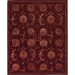 "Nourison Regal 9'9"" x 13'9"" Garnet Area Rug"