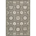 "Nourison Regal 3'9"" x 5'9"" Cobble Stone Area Rug - Item Number: 05537"
