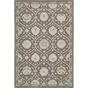 "Nourison Regal 9'9"" x 13'9"" Cobble Stone Area Rug"