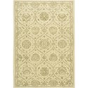 "Nourison Regal 5'6"" x 8'6"" Gravel Area Rug - Item Number: 05553"