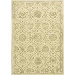 "Nourison Regal 3'9"" x 5'9"" Gravel Area Rug"